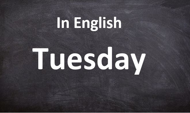 Tuesday-Days Name in Hindi